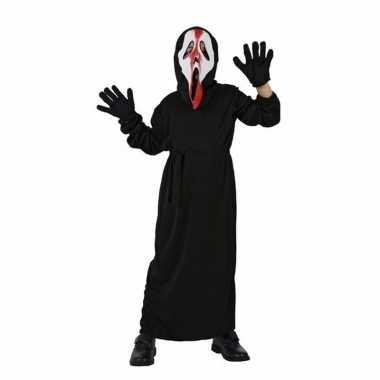 Halloween verkleedkleding screaming ghost
