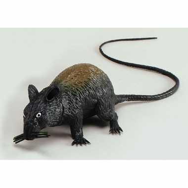 Halloween versiering rat 13 cm
