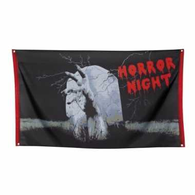 Halloween vlag horror night 150 cm