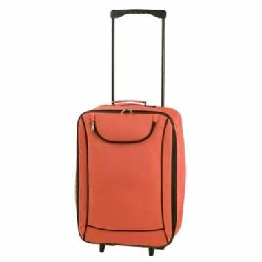 Handbagage trolley oranje 1,1 kg