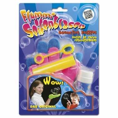 Handschoenen voor stuiterende bellenblaas
