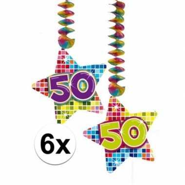 Hangdecoratie verjaardag 50 jaar