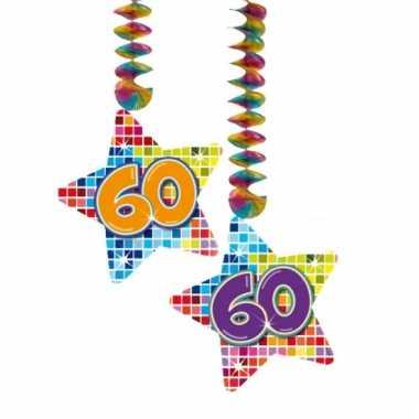 Hangdecoratie verjaardag 60 jaar