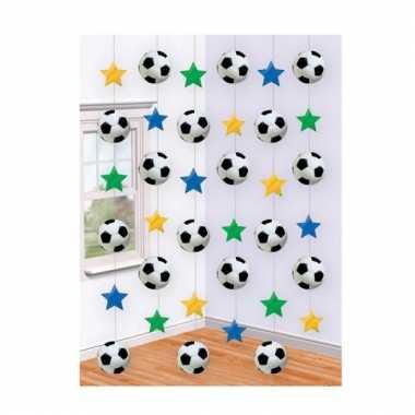 Hangdecoratie voetbal strengen