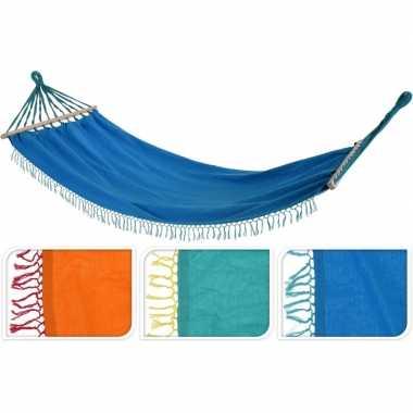 Hangmat in het blauw 200 cm