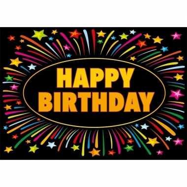 Happy birthday kaart