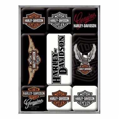 Harley davidson magneetjes