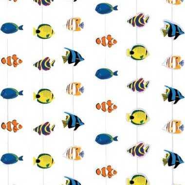 Hawaii deurgordijn met vissen
