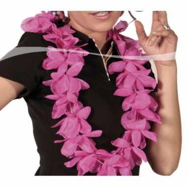 Hawaii krans roze