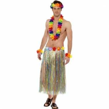 Hawaii set in regenboog kleuren