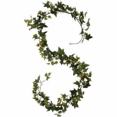 Hedera/klimop kunstplant guirlande/slinger groen 180 cm