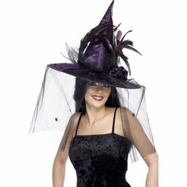 Heksenhoed in het paars