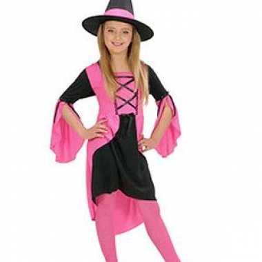 Heksenjurkje meisjes roze