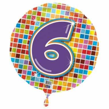 Helium ballon 6 jaar