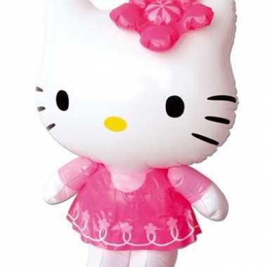 Hello kitty opblaas 46 cm