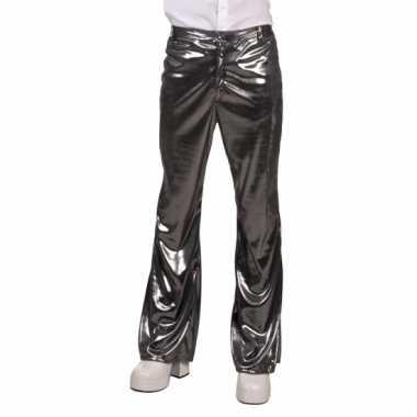 Heren broek zilver jaren 70/80