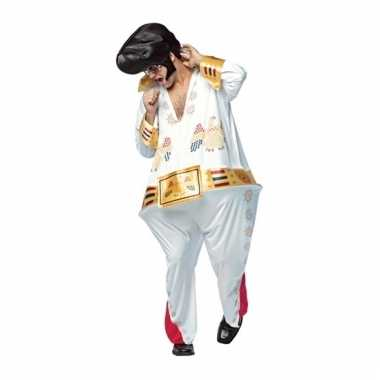 Heren dikke elvis the king kostuum