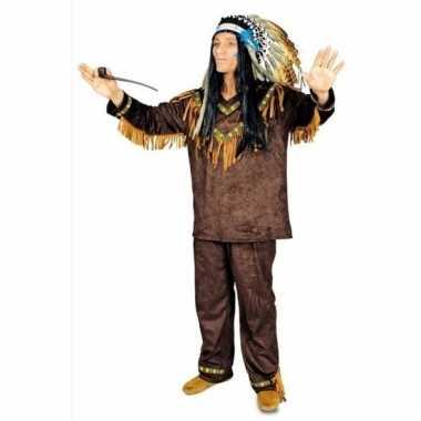 Heren indiaan kostuum hania