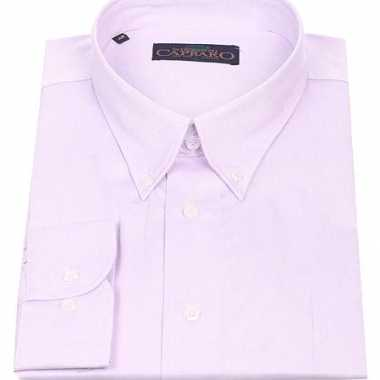 Heren overhemd button down boord