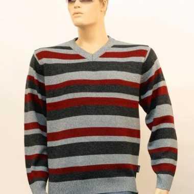 Heren pullover gestreept