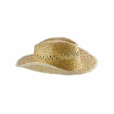 Heren strohoed cowboy