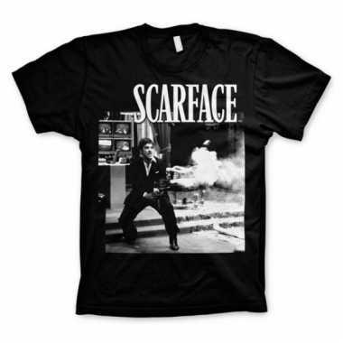 Heren t-shirt scarface wanna play rough