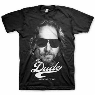 Heren t-shirt the dude