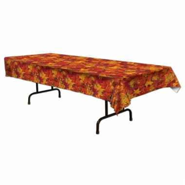Herfstbladeren tafelkleden 275 x 135 cm