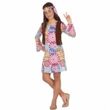 Hippie 60s verkleedkostuum voor meisjes