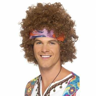 Hippie verkleedaccessoireset voor heren