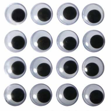 Hobby artikelen oogjes aannaaibaar 8 mm