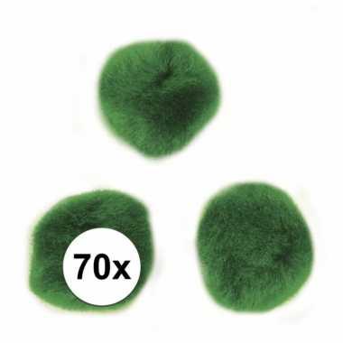 Hobby balletjes groen 7 mm