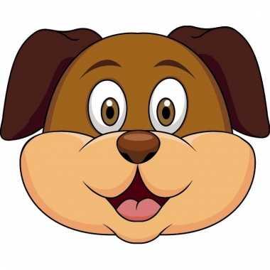 Honden maskers knutselen pakket