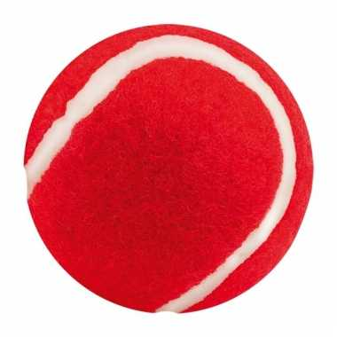 Hondenbal in de kleur rood