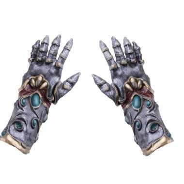 Horror alien handschoenen voor volwassenen
