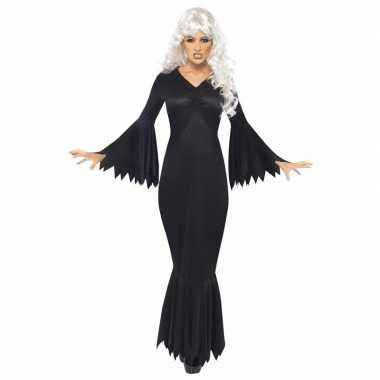 Horror/halloween jurk zwart voor dames