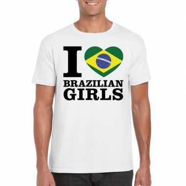 I love brazilian girls vakantie t-shirt brazilie heren