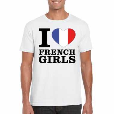 I love french girls vakantie t-shirt frankrijk heren