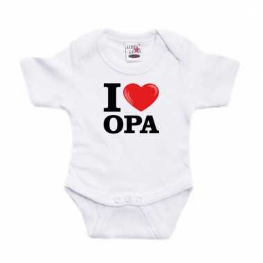 I love opa rompertje baby