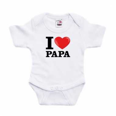 I love papa rompertje baby