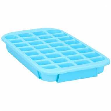 Ijsklontjes maker blauwe vorm voor 24 xl klontjes