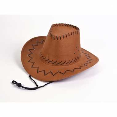 Imitatie leren kinder cowboyhoed
