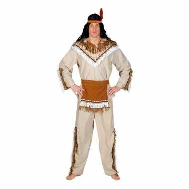 Indiaan adahy carnavalskostuum voor heren