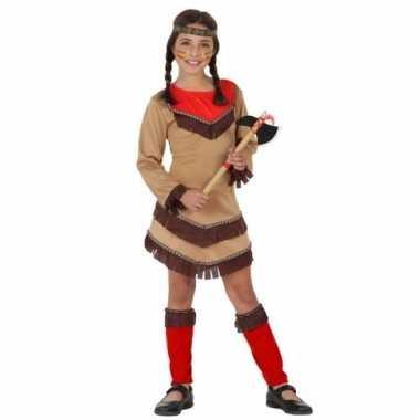 Indiaan chinouk verkleedkostuum voor meisjes