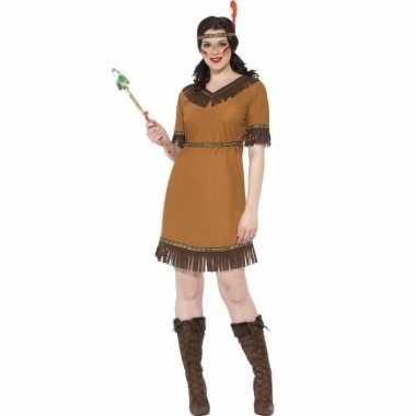 Indiaan kostuum jurkje voor dames