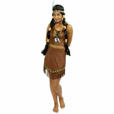 Indianen jurkje prarie met franjes