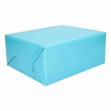 Inpakpapier aqua 200 cm