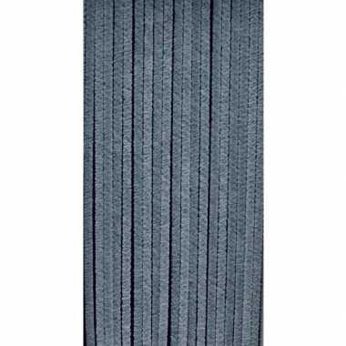Insectenwerend floddergordijn grijs 90x220 cm