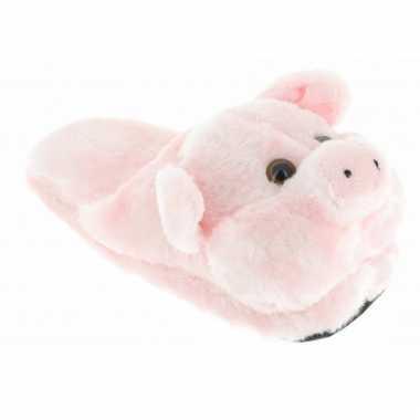 Instap pantoffels varken voor kinderen