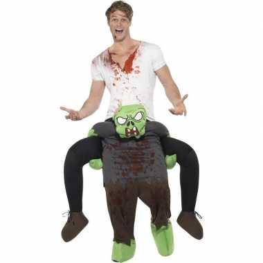 Instapkostuum zombie voor volwassenen